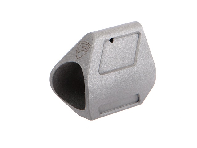 Low Profile Gas Block - Stainless Steel